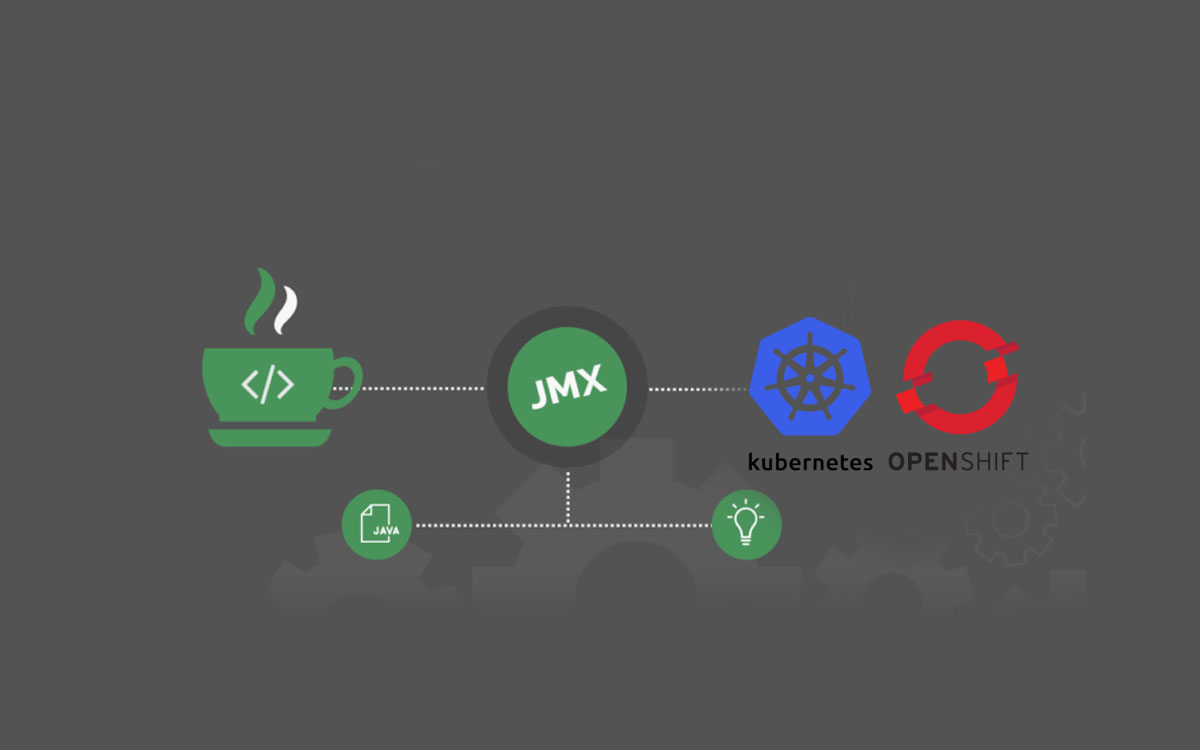 Remote JMX Connection to Openhift (or Kubernetes) pod